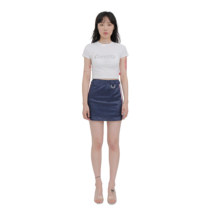 C SPORTY MINI SKIRT_NAVY
